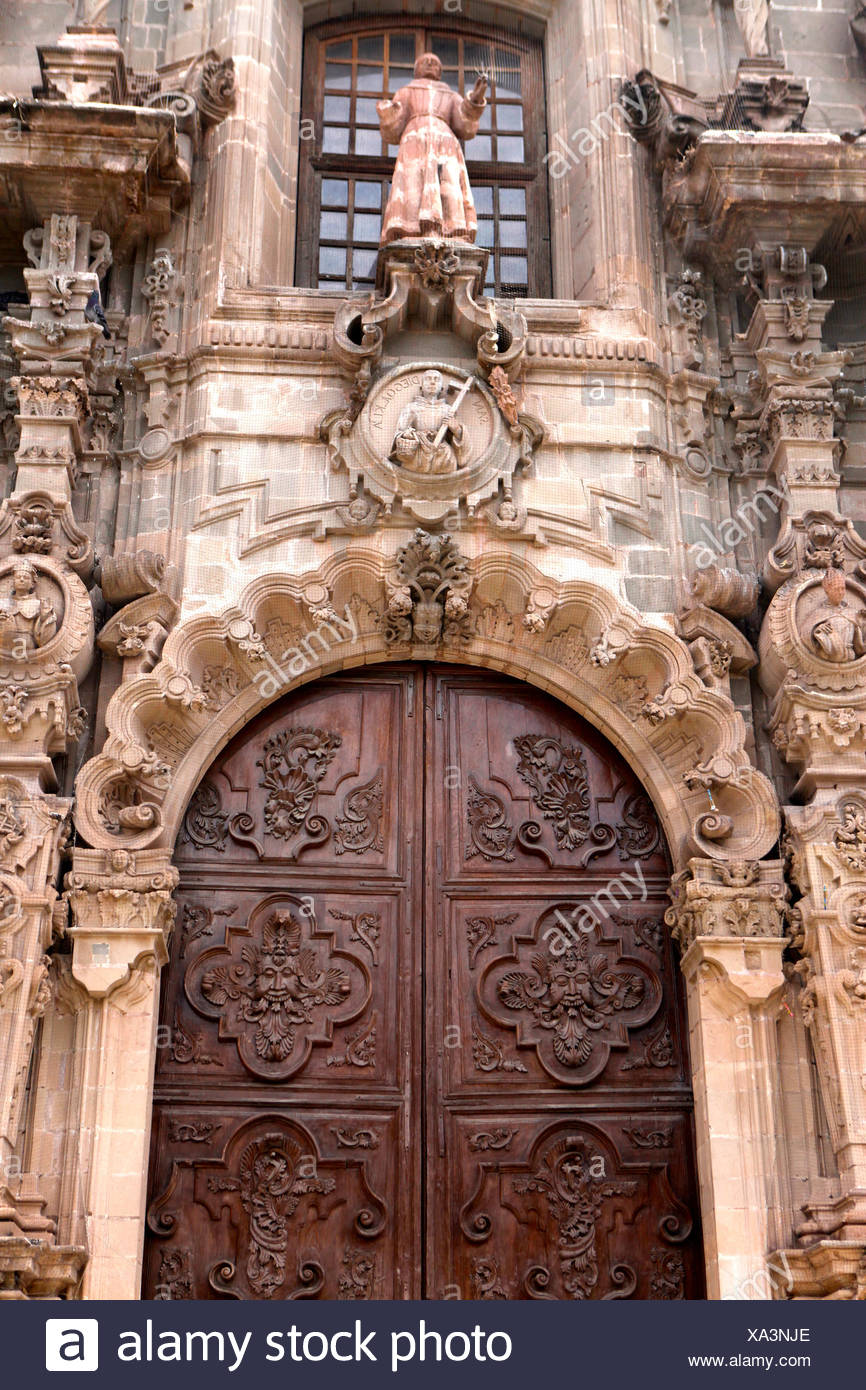 Architectural detail in Guanajuato, Mexico. - Stock Image