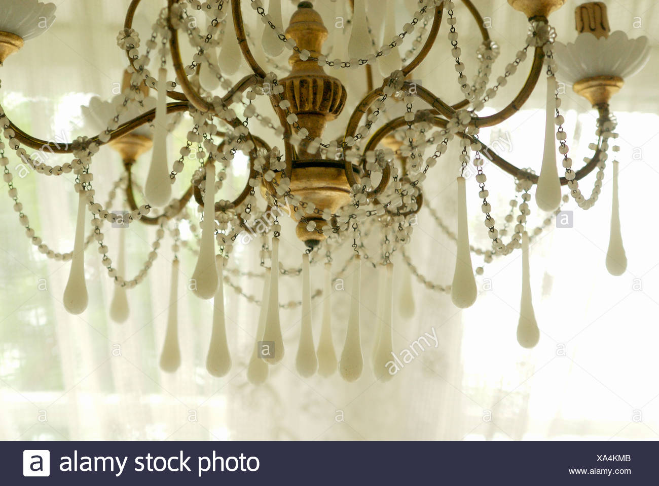 A cut glass chandelier sweden stock photo 281615723 alamy a cut glass chandelier sweden aloadofball Choice Image