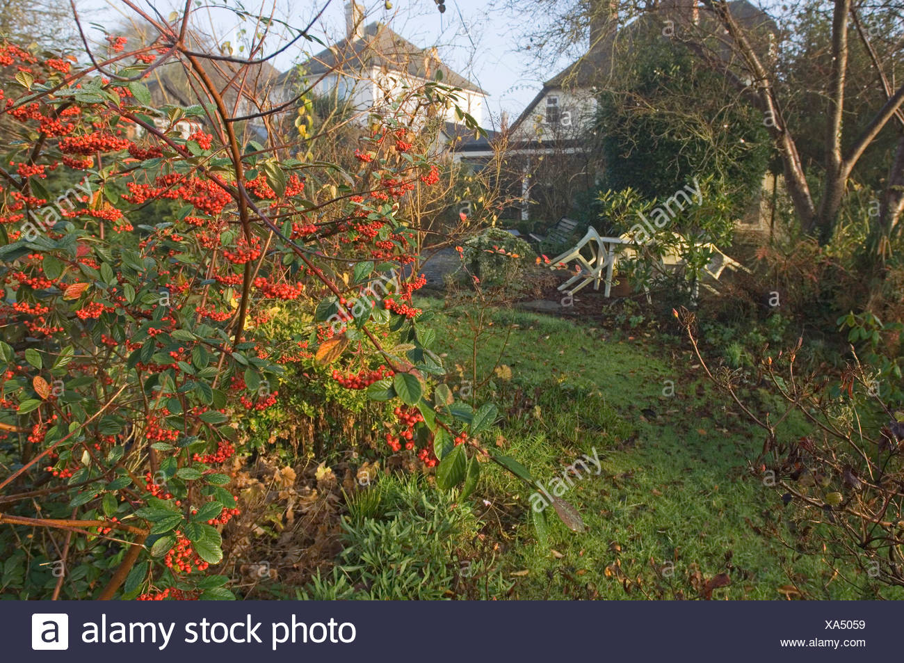 Suburban Garden Autumn Stock Photos & Suburban Garden Autumn Stock ...
