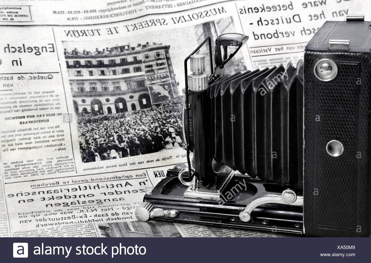 Photojournalism Anno 1939 - Stock Image