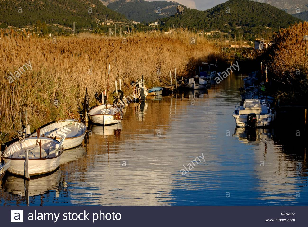 Torrente des Salouet, puerto de Andratx, Mallorca, balearic islands, spain, europe. - Stock Image