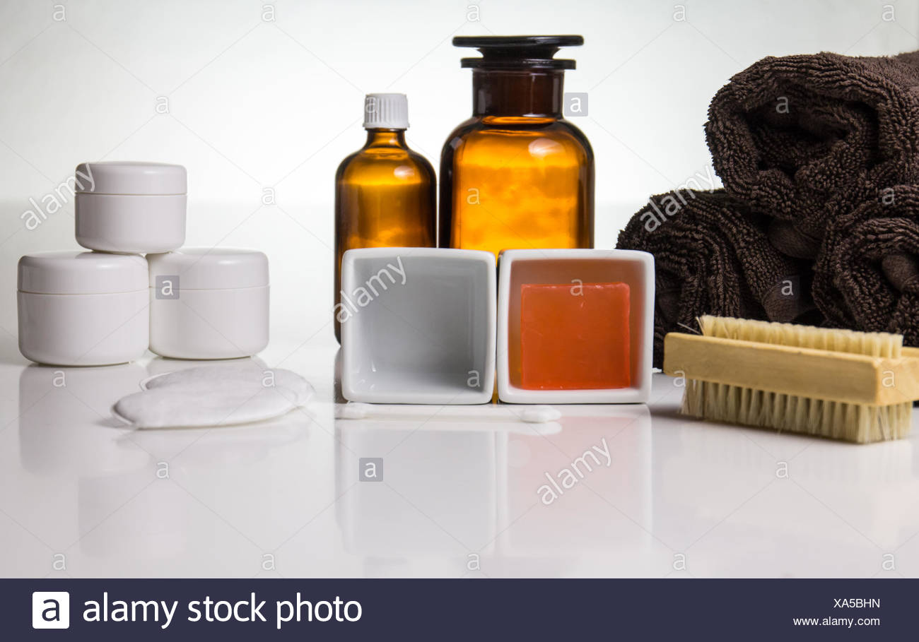 Purification and Care - Stock Image