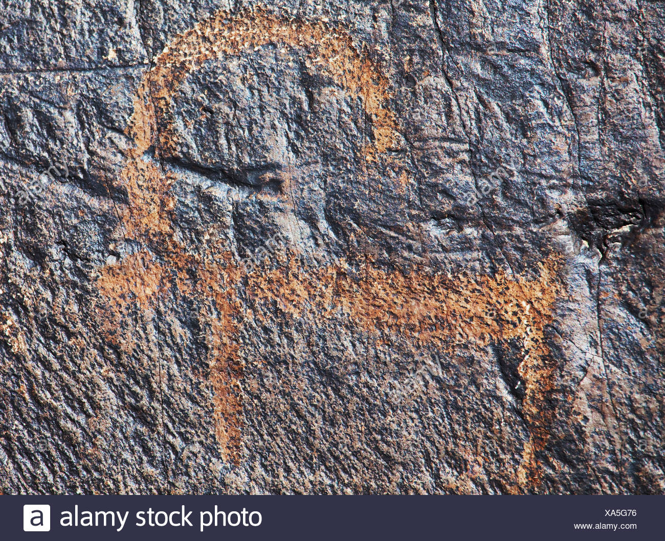 hieroglyph texture - Stock Image