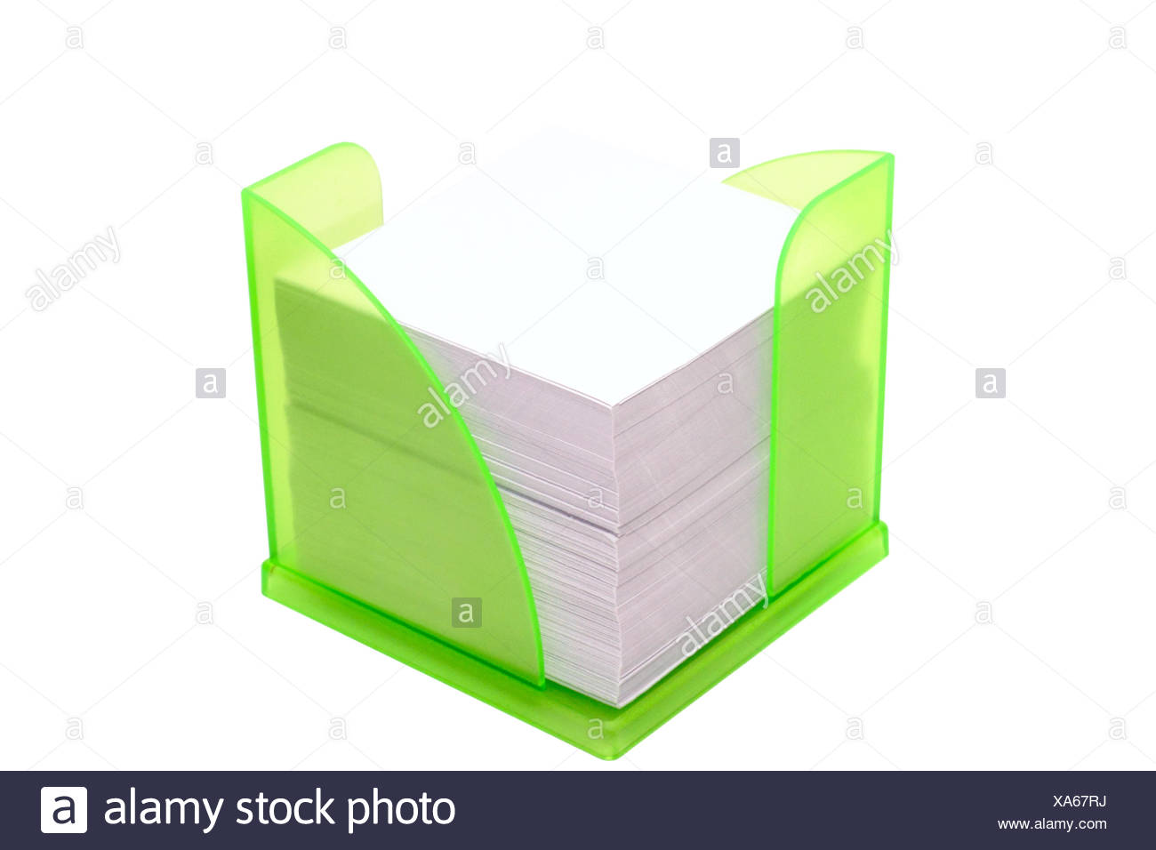 Holder the paper records - Stock Image