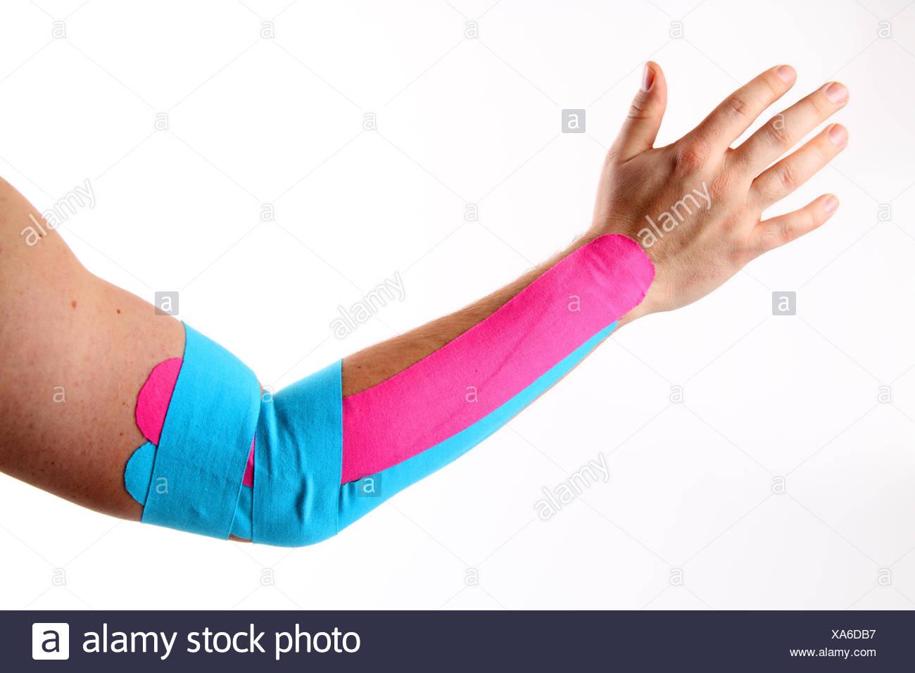 tennis elbow Stock Photo