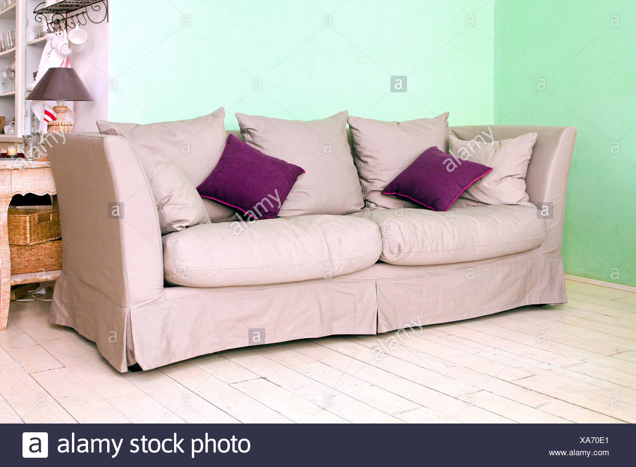 Couch - Stock Image