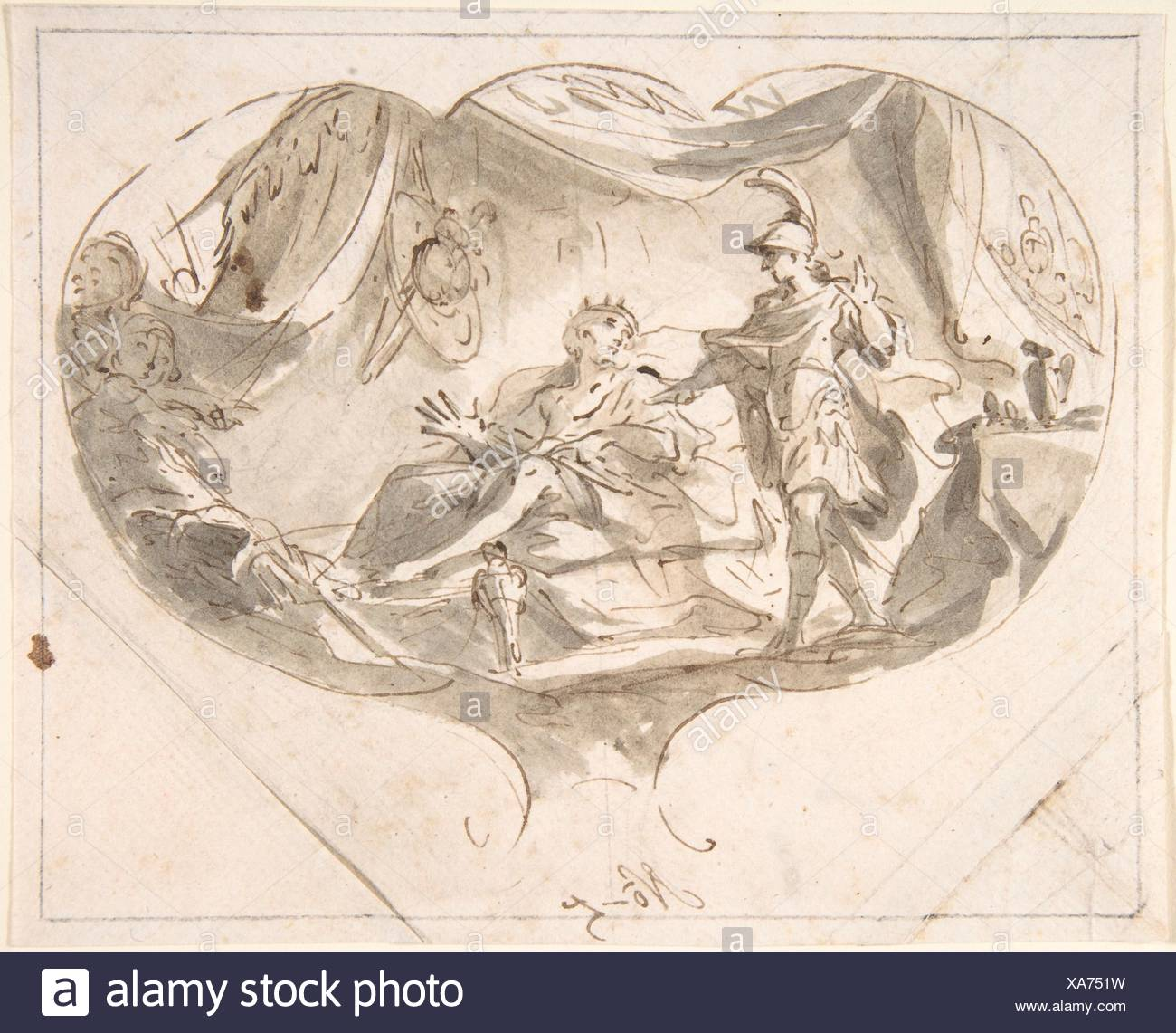 Alexander the Great and King Poros  Artist: Martin Altomonte