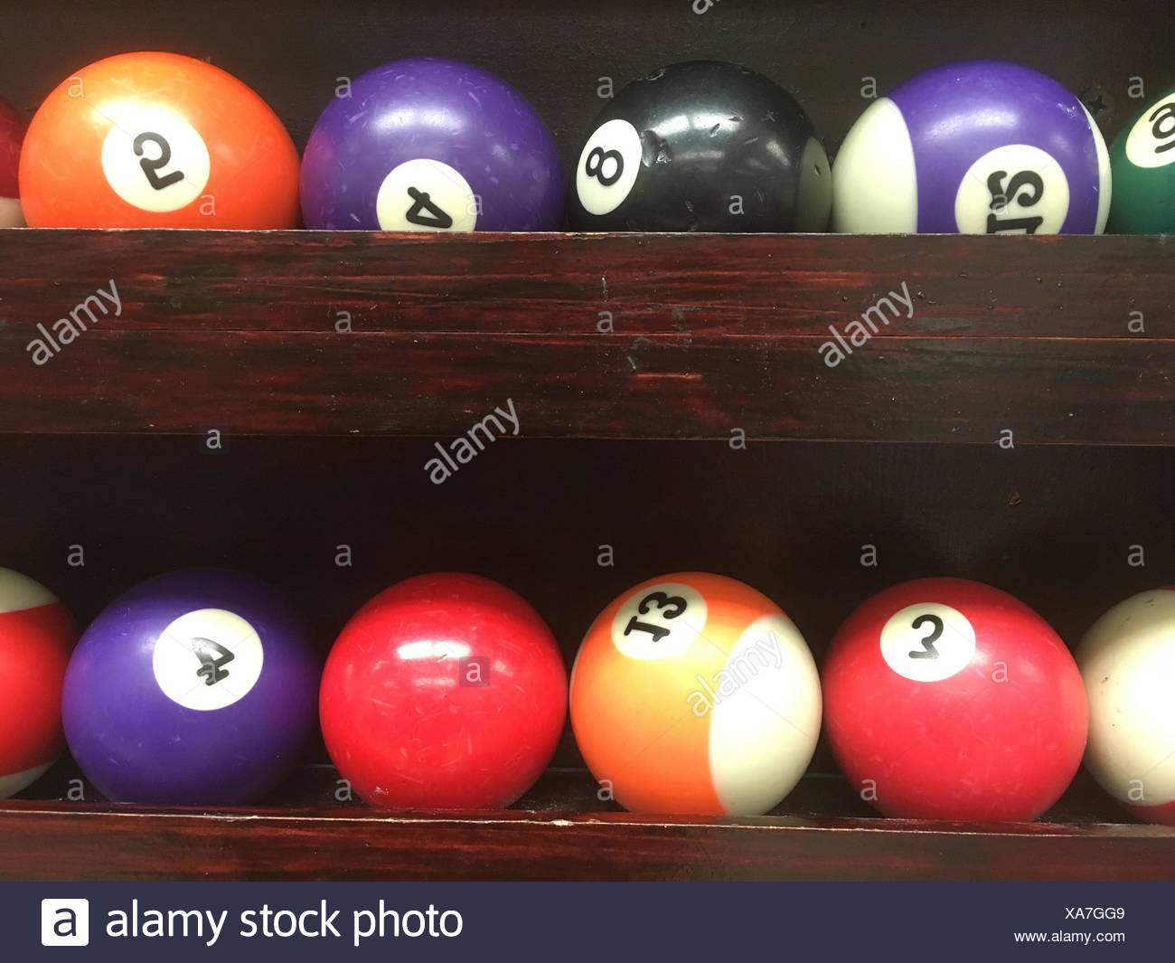 snooker - Stock Image