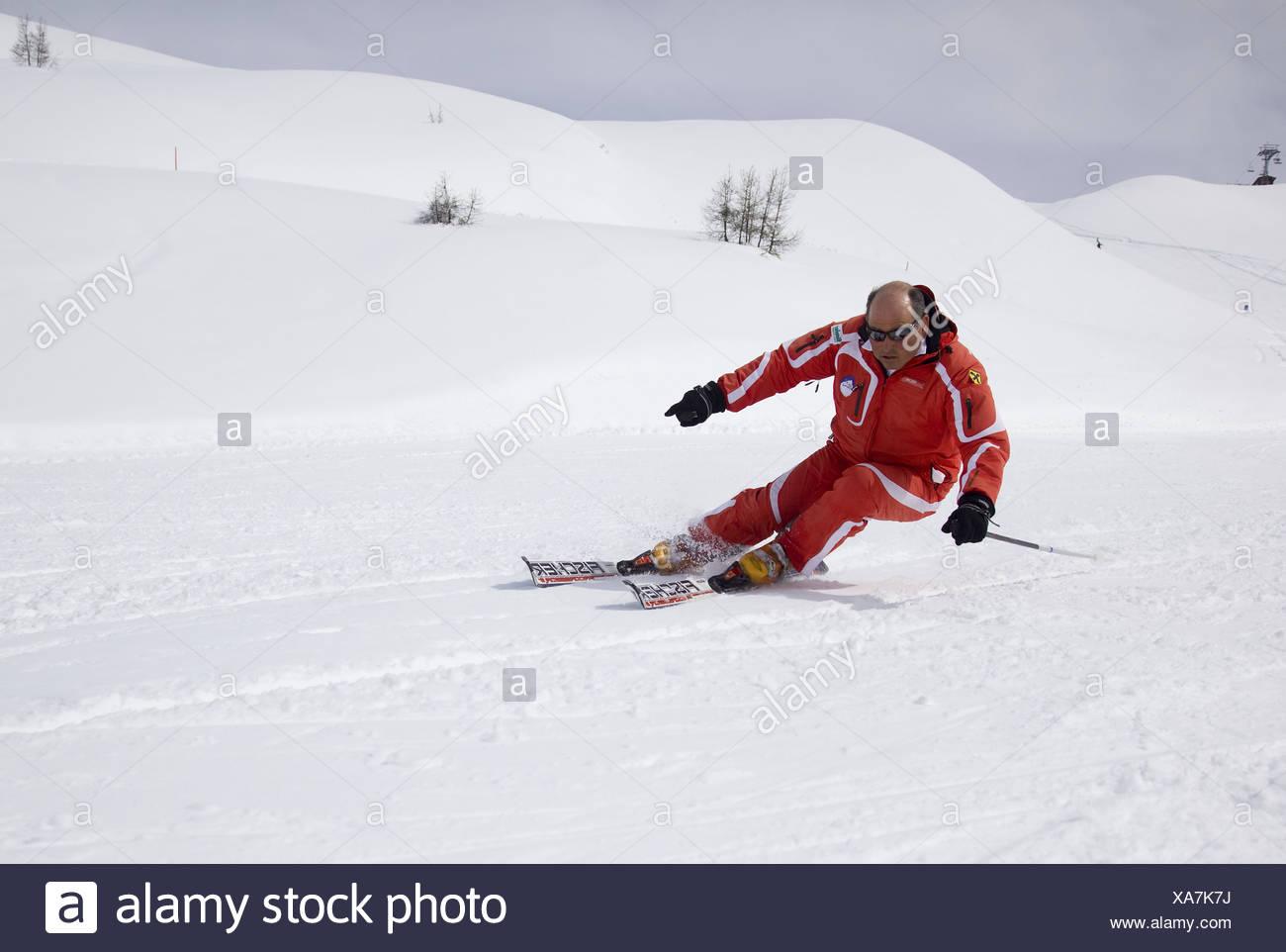 Skiing - Stock Image