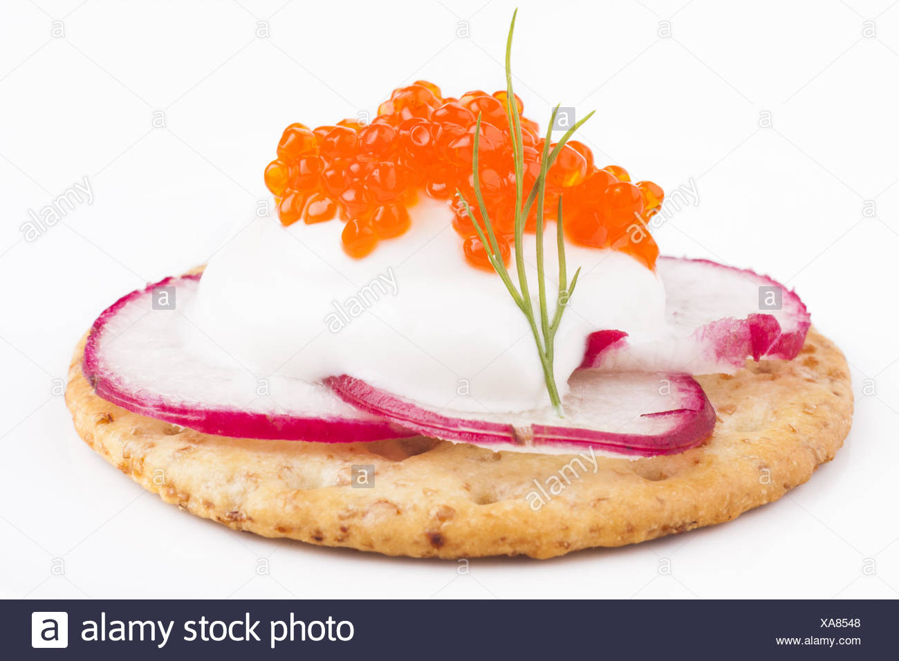 Appetiser Closeup - Stock Image
