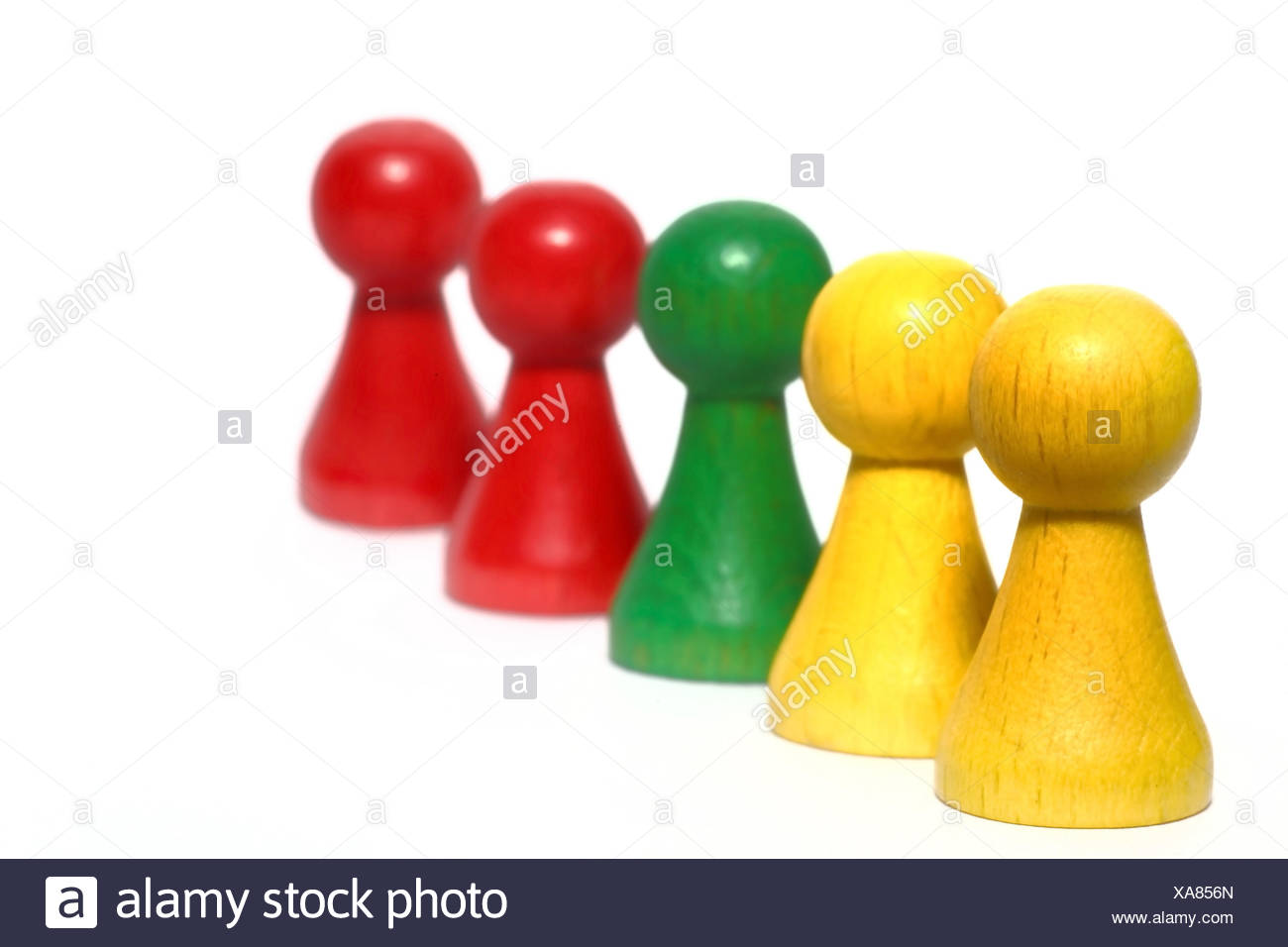 game characters - Stock Image