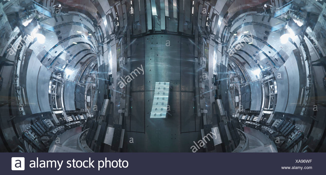 Inside A Fusion Reactor - Stock Image