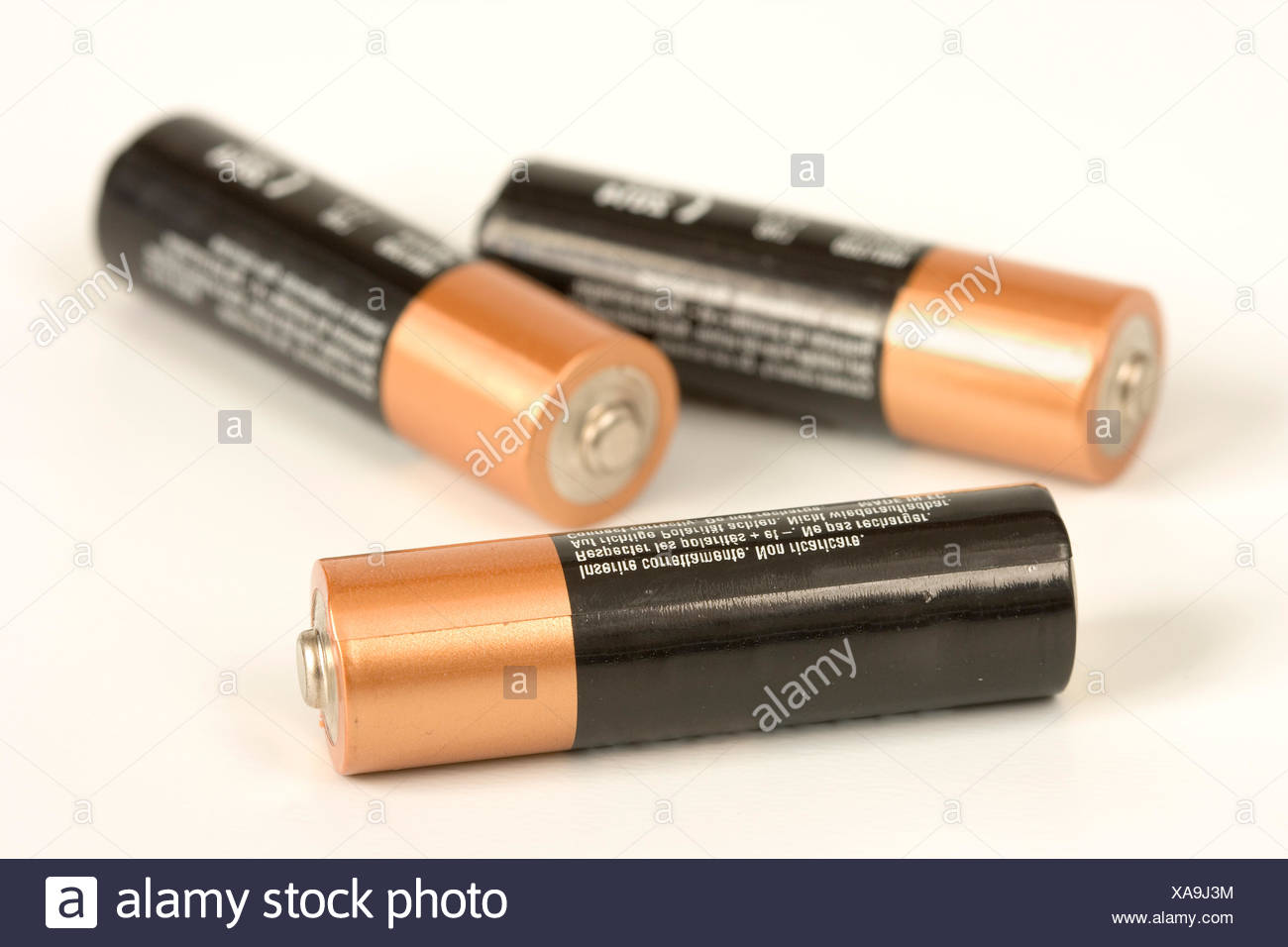 voltage battery charges - Stock Image
