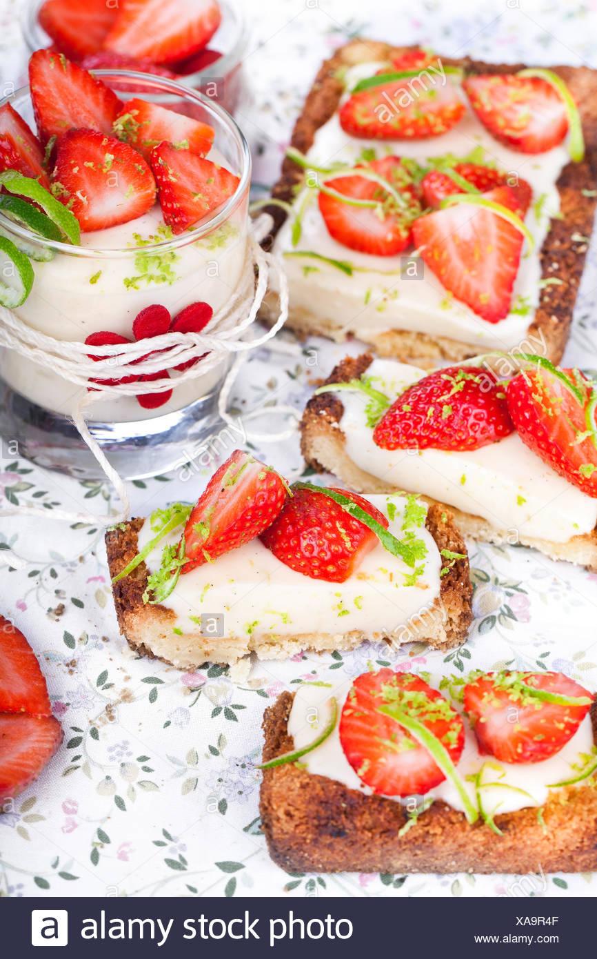cake pie cakes - Stock Image