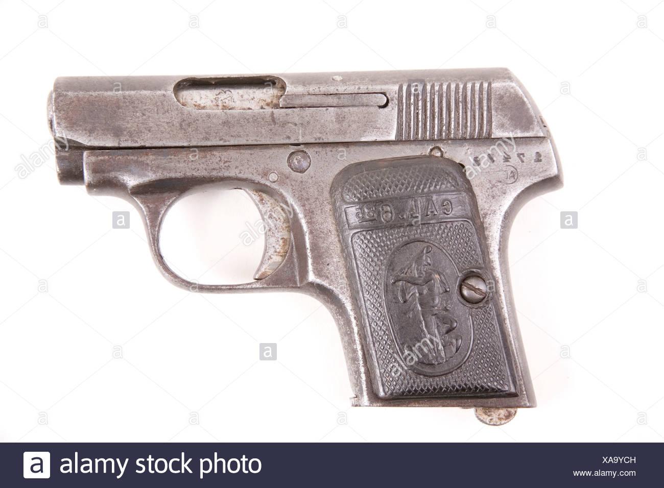 Pistols (1920) 6, 35 Cal - Stock Image
