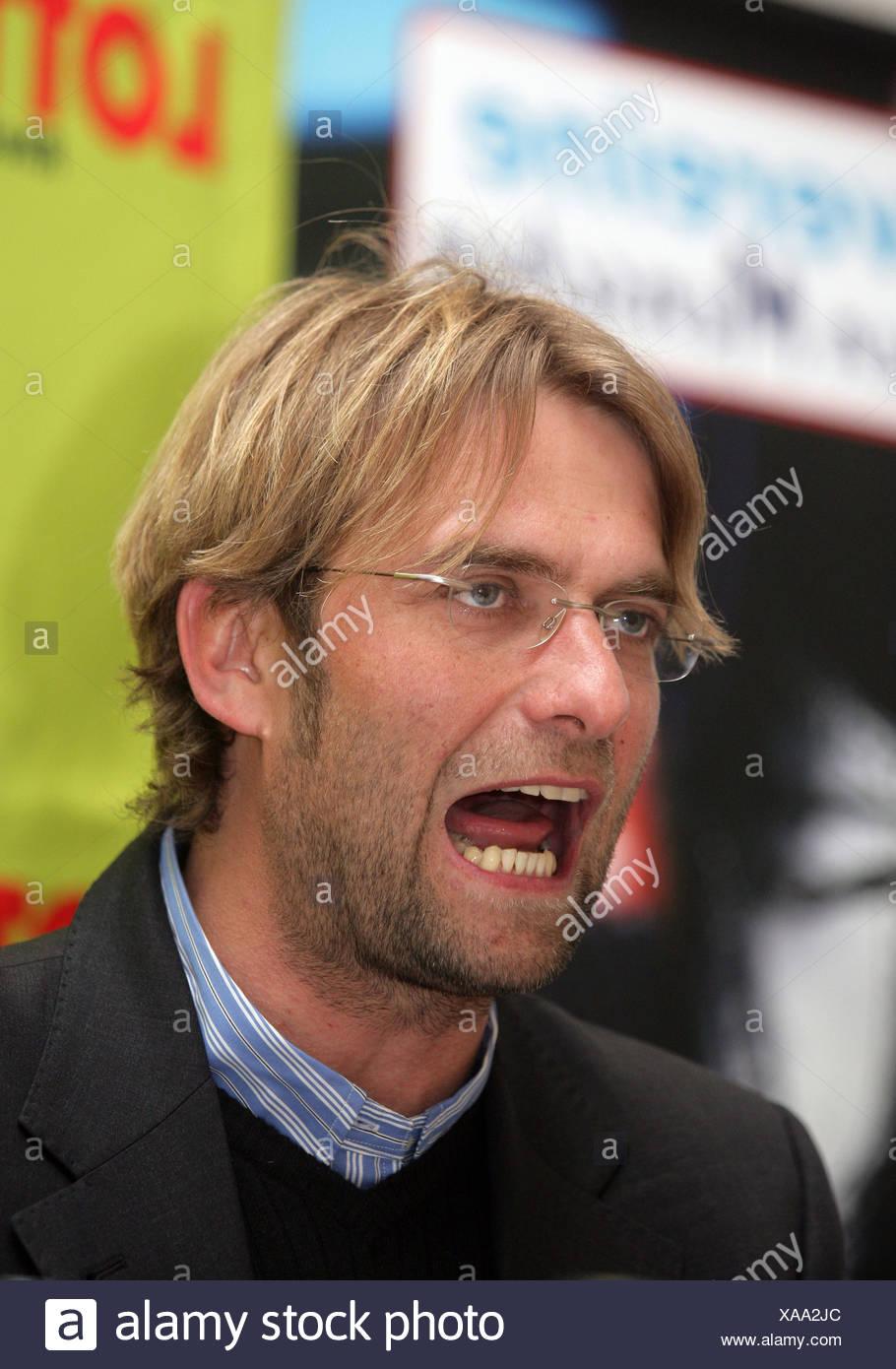 Mainz 05 Coach Juergen Klopp - Stock Image