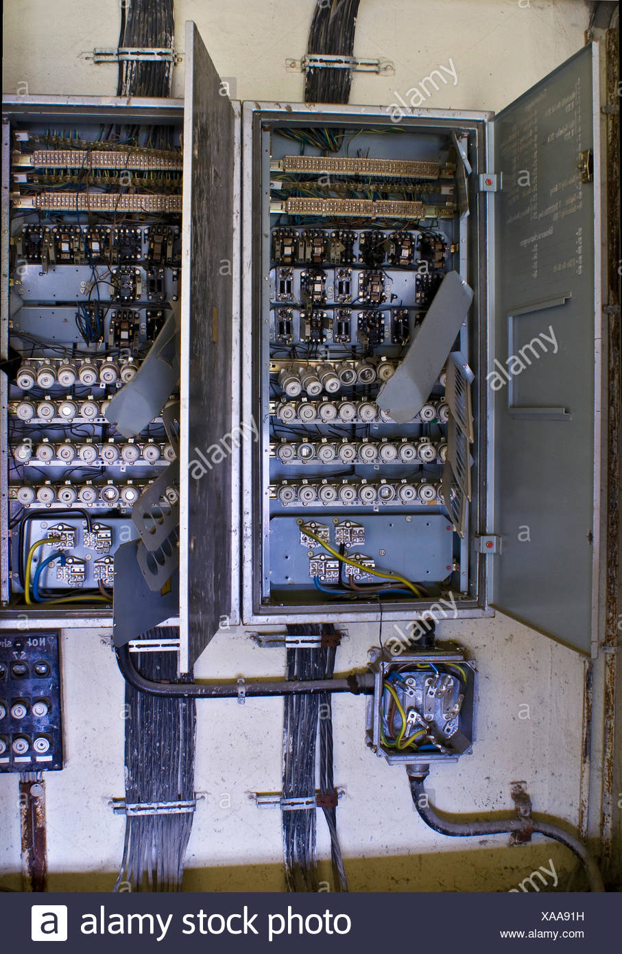 switchboard fuse box energy power electricity electric power ailing defect