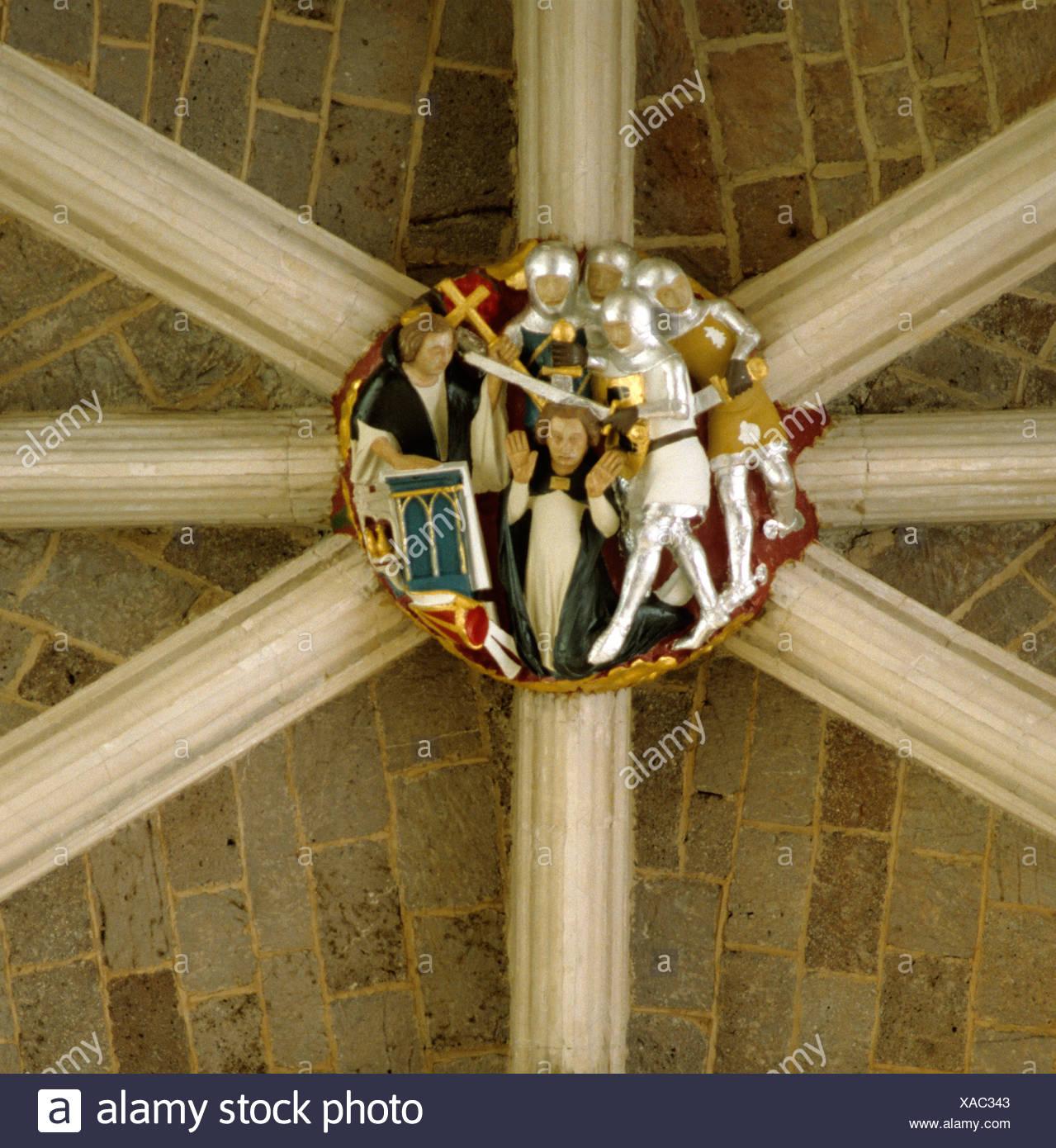 Canterbury cathedral becket