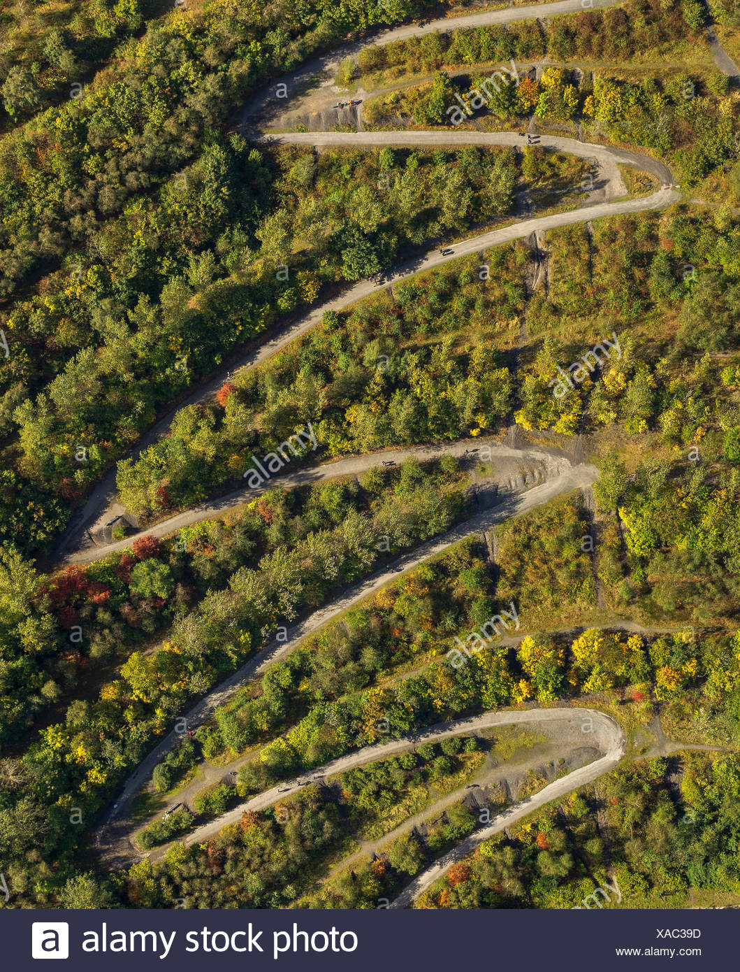 Winding Path Aerial Stock Photos & Winding Path Aerial Stock Images ...