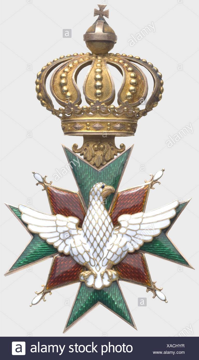 A House Order of Vigilance or the White Falcon, Grand Cross