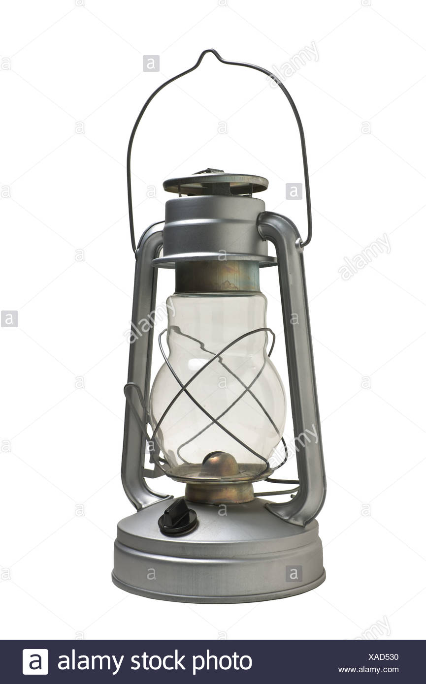 new kerosene lamp - Stock Image