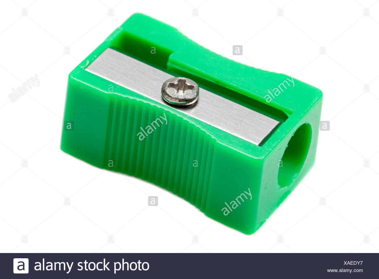 green one object - Stock Image