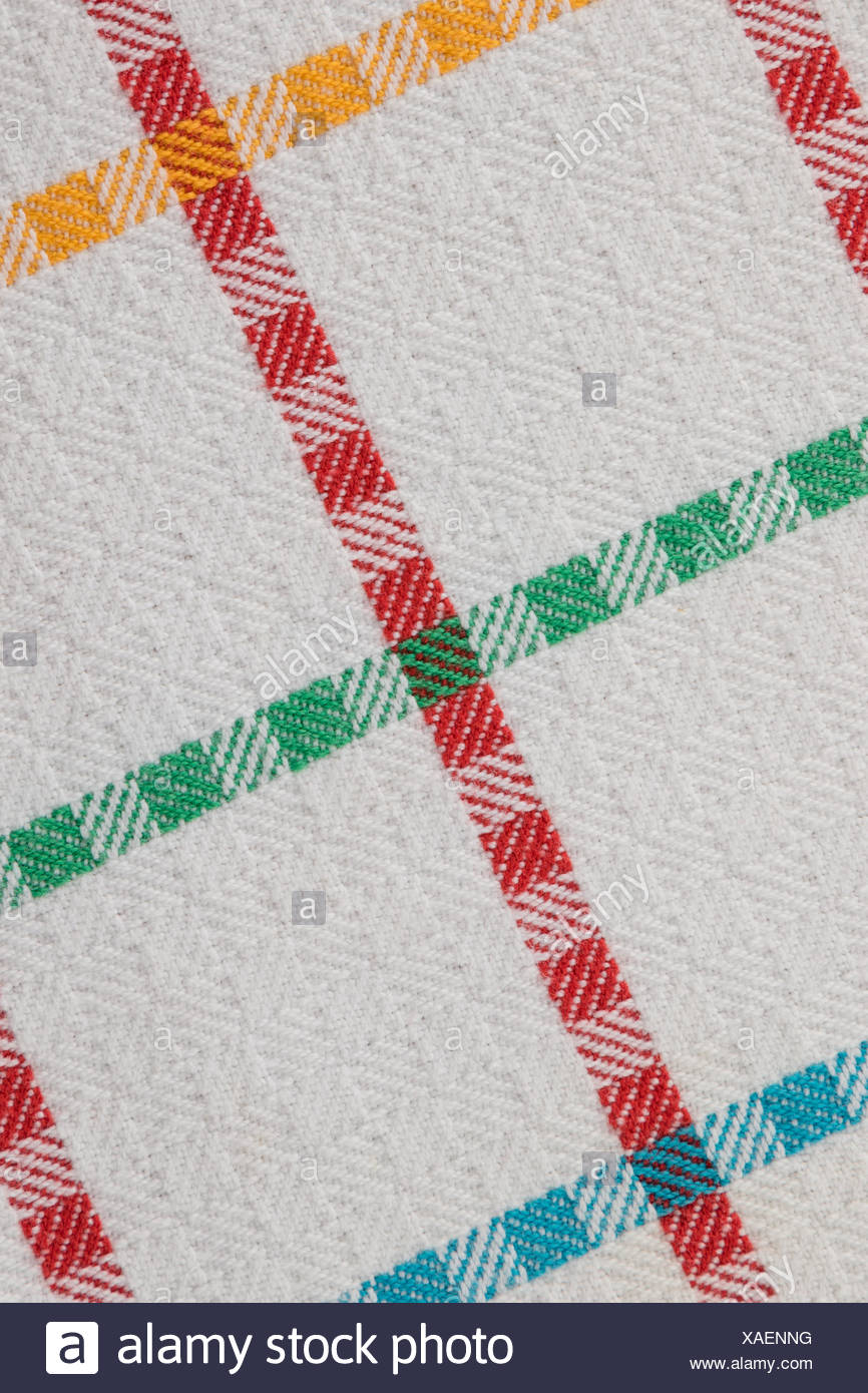tablecloth - Stock Image