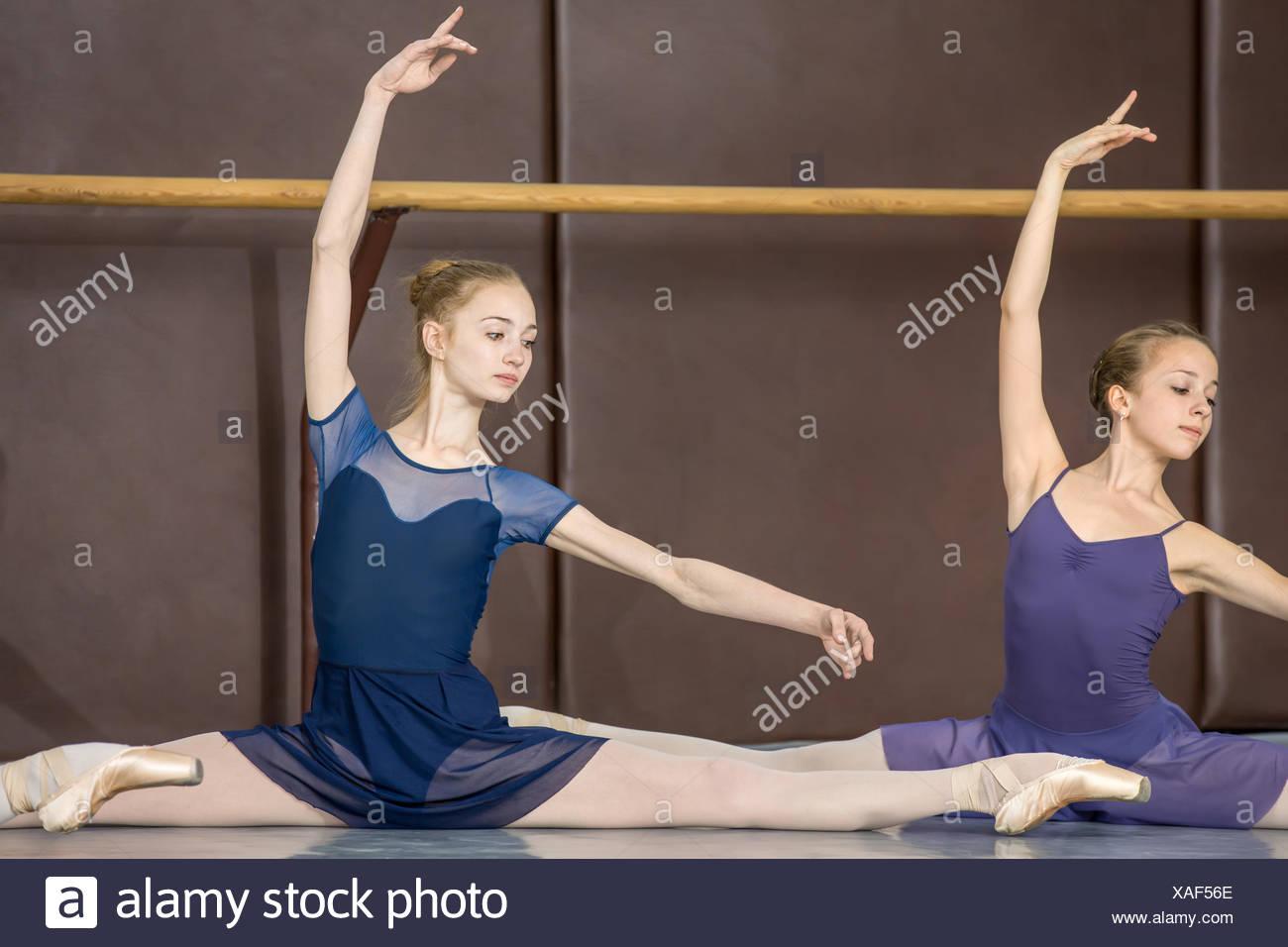 classical choreography - Stock Image