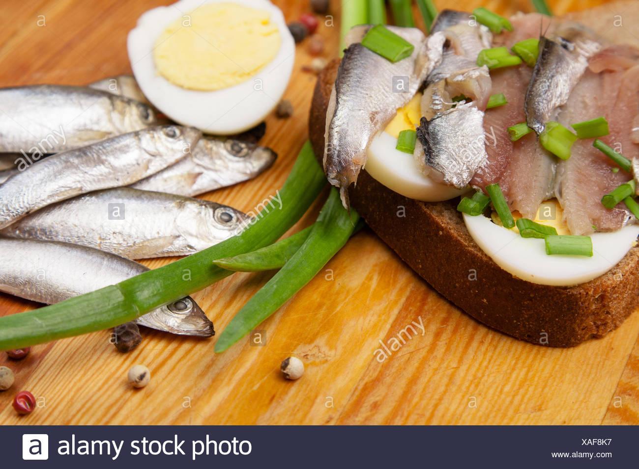 food aliment bread salt pepper wood shell silver freshness small tiny little short spring bouncing bounces hop skipping frisks - Stock Image