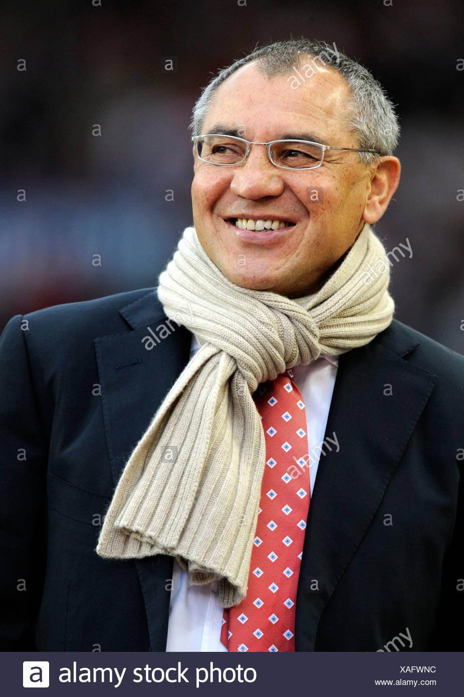 Coach Felix MAGATH VfL Wolfsburg - Stock Image