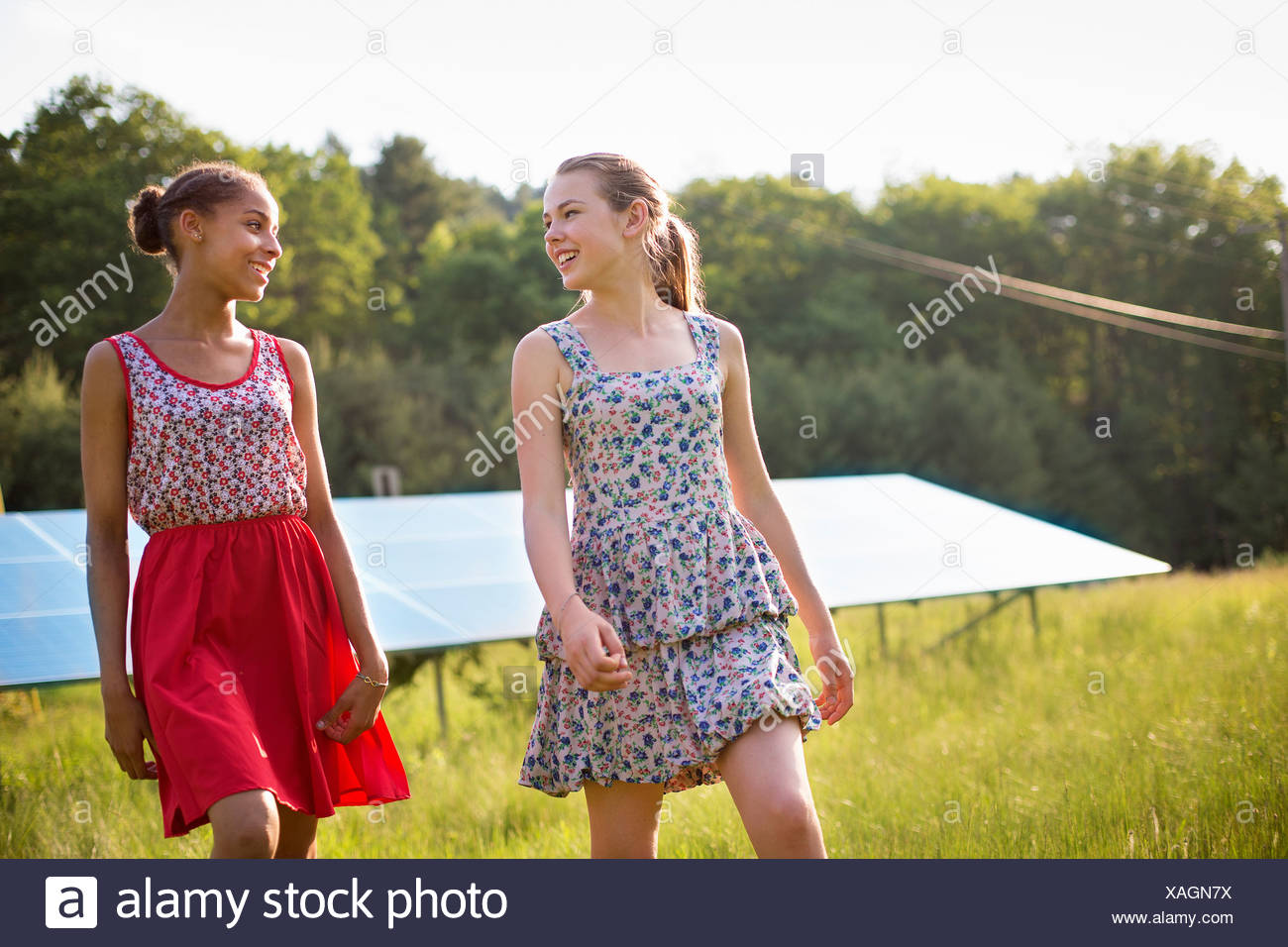 young farm girls