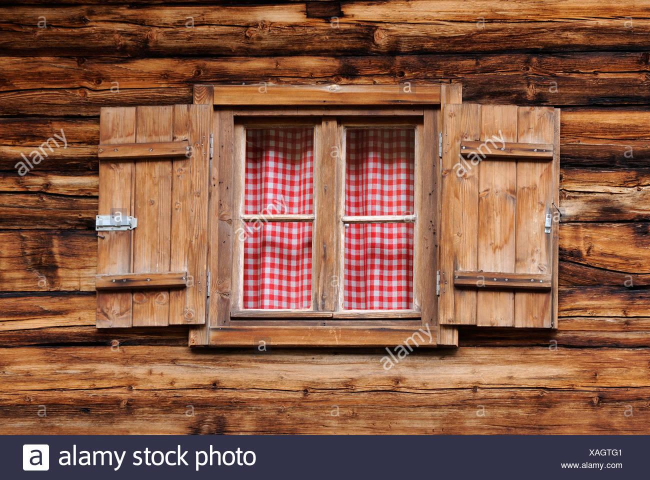 Europe, Austria, View of window - Stock Image