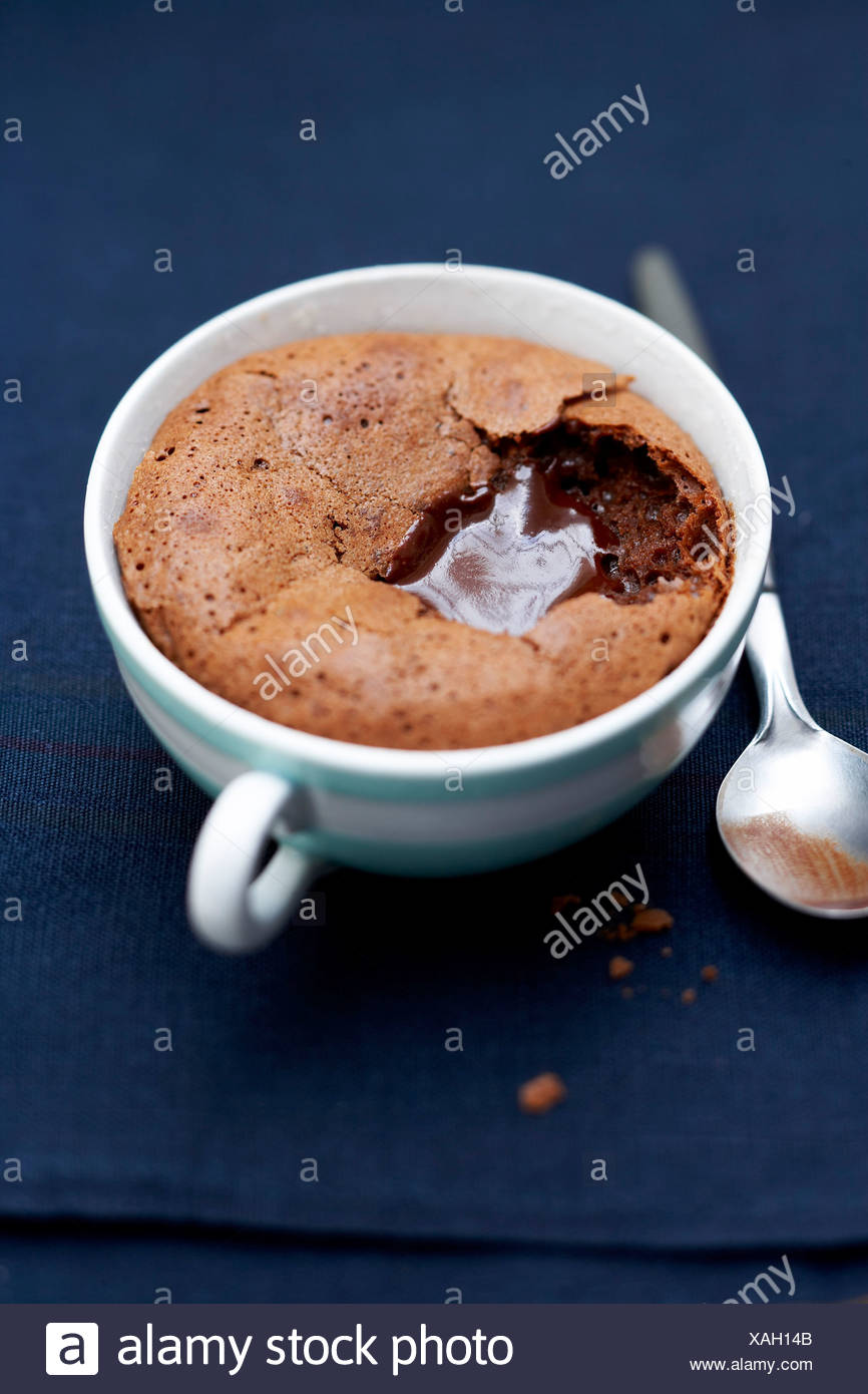 Chocolate Moelleux - Stock Image
