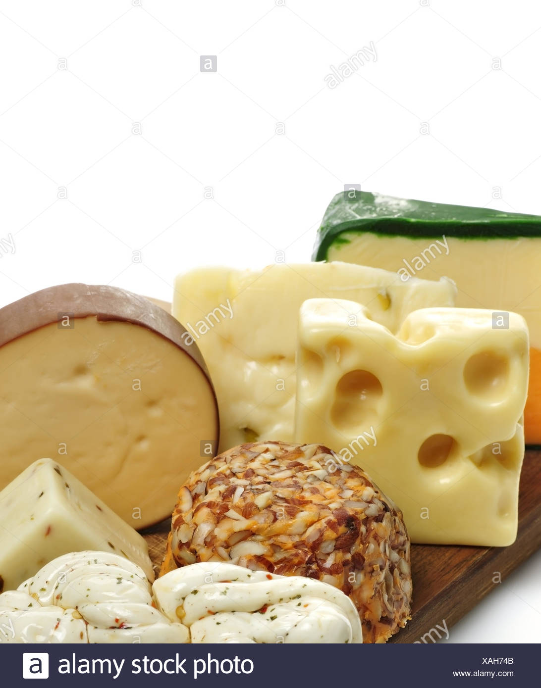 Cheese Slices - Stock Image