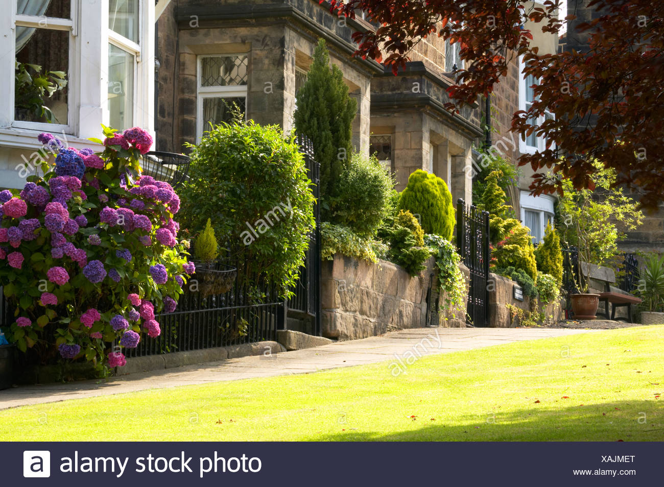 Front Garden Victorian Terraced House High Resolution Stock Photography And Images Alamy