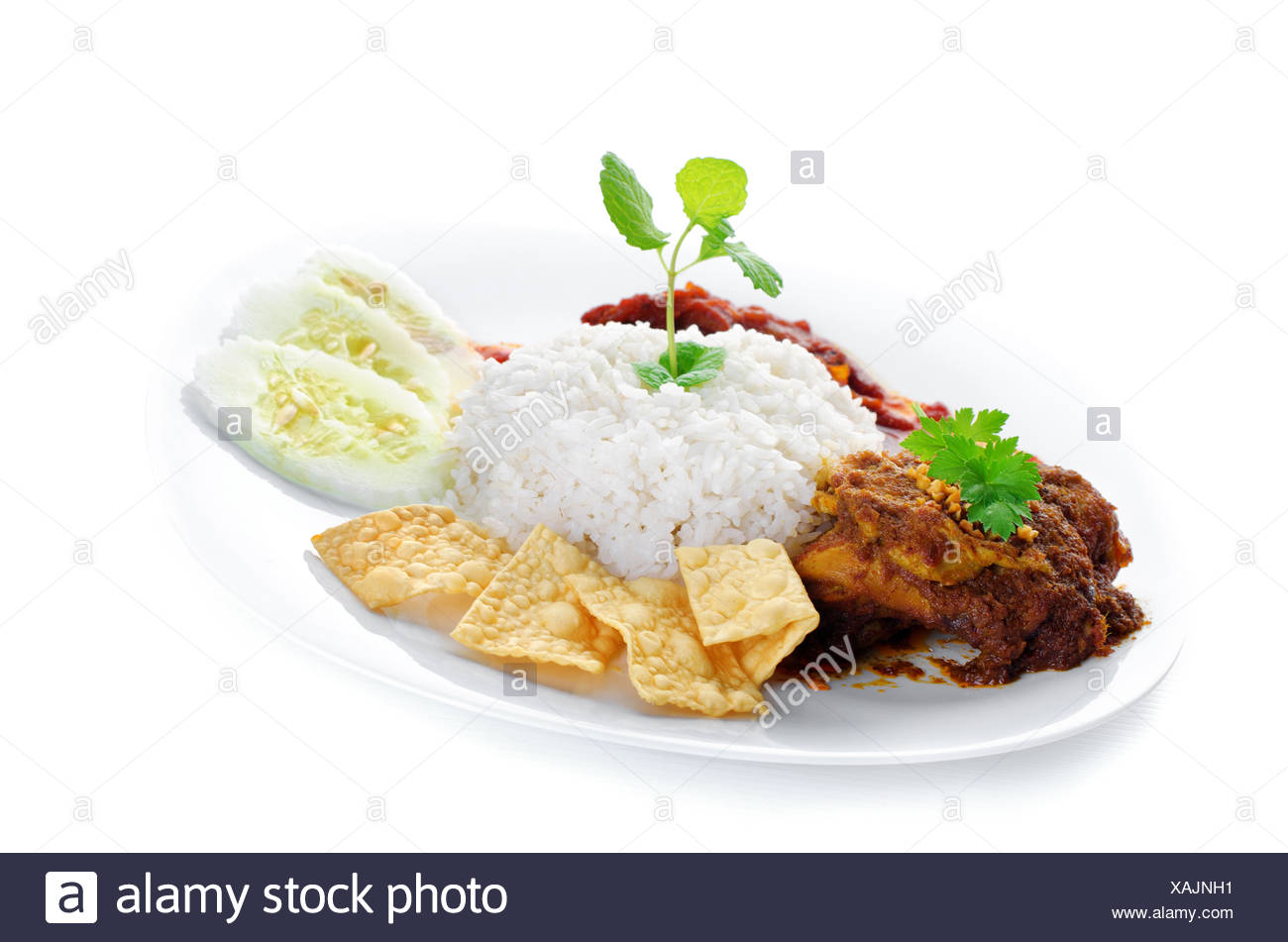 Sambal Cut Out Stock Images & Pictures - Alamy