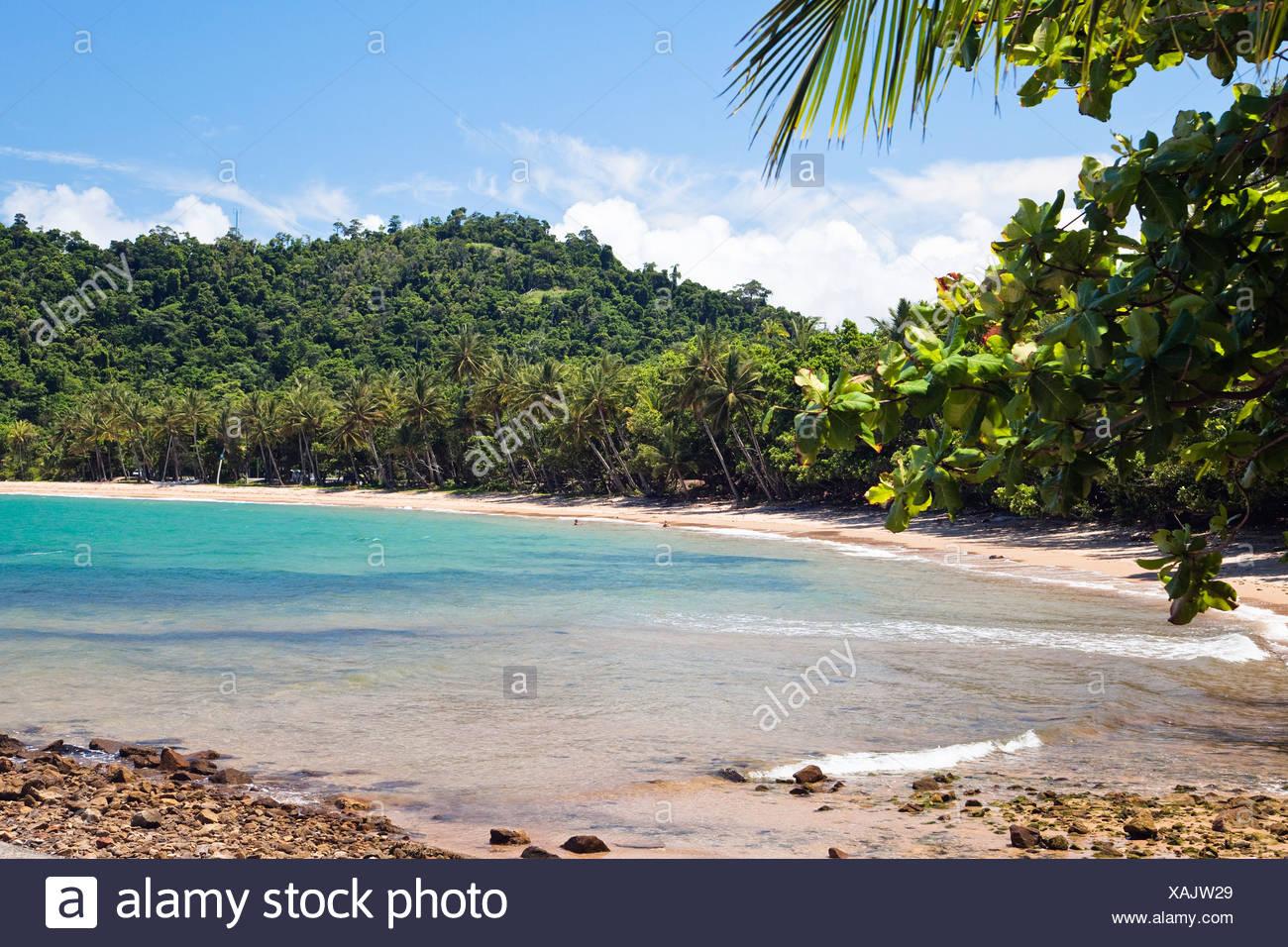 Mission Beach near Innisfail, Queensland, Australia - Stock Image