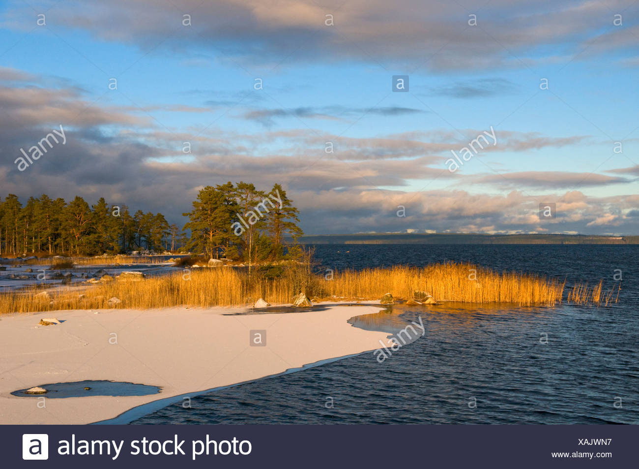 Unden Lake, Tiveden National Park, Sweden, Scandinavia, Europe Stock Photo