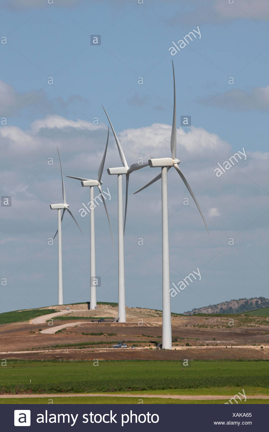 Wind Energy in Andalusia - Stock Image