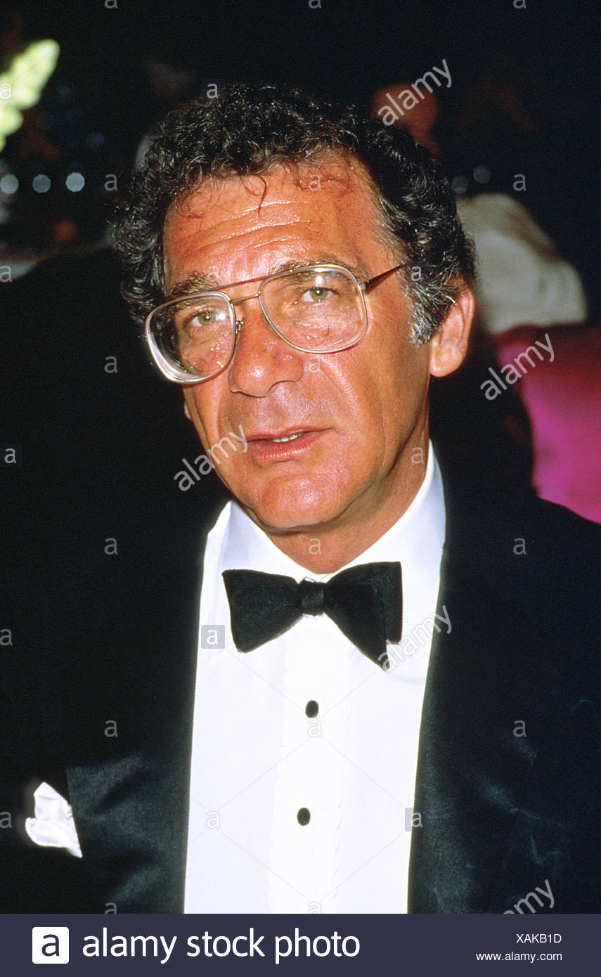 Pollack, Sydney, 1.7.1934 - 26.5.2008, American director, portrait, during Cannes Film Festival, 1986, Additional-Rights-Clearances-NA - Stock Image