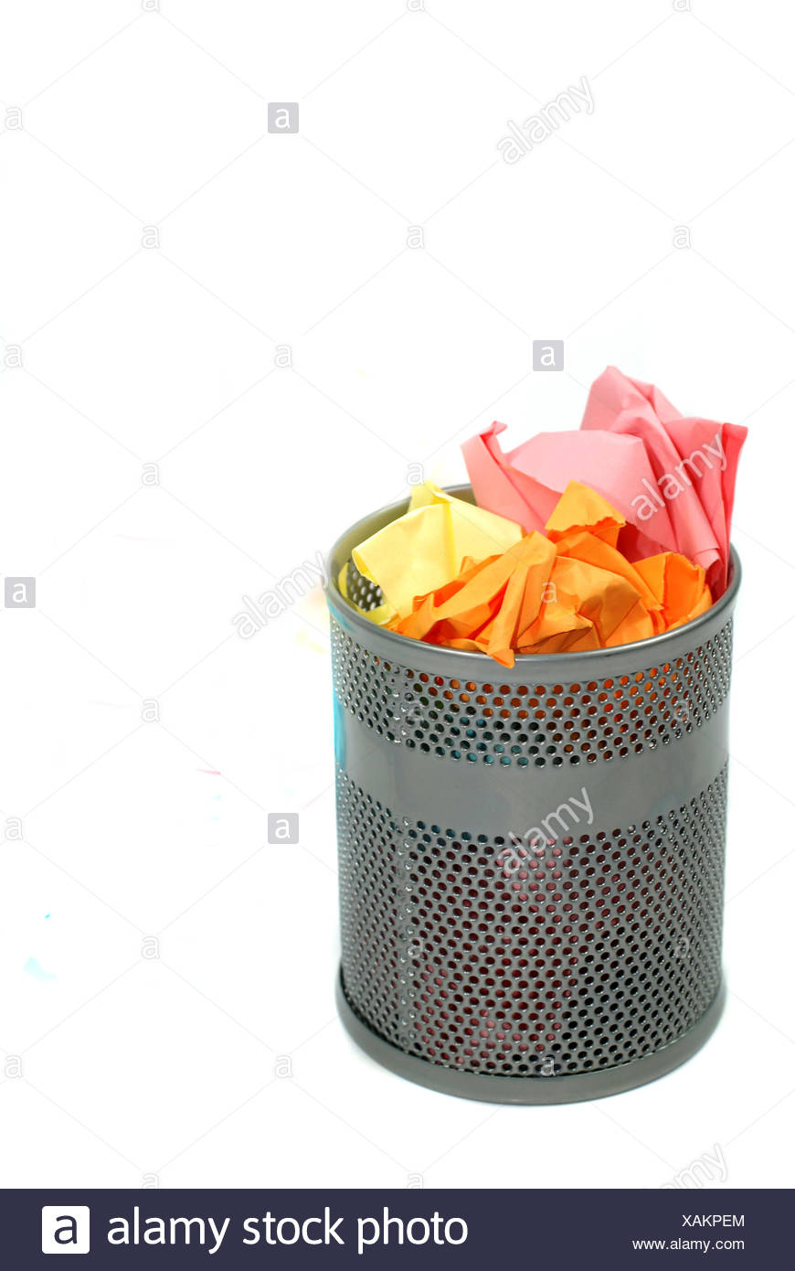 mull refuse throw away Stock Photo