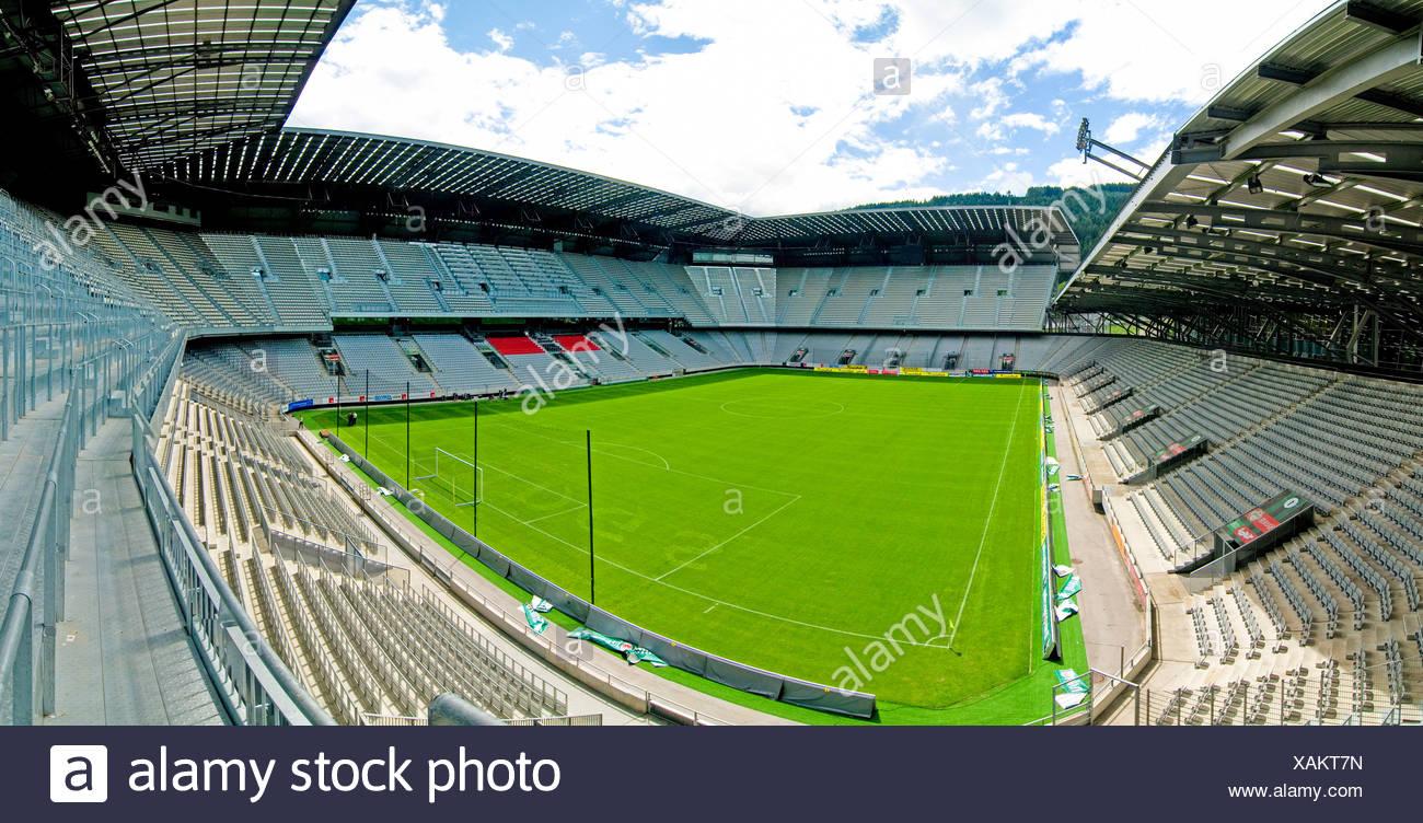 Tivoli Stadion, Innsbruck, Fussball, Tirol - Stock Image