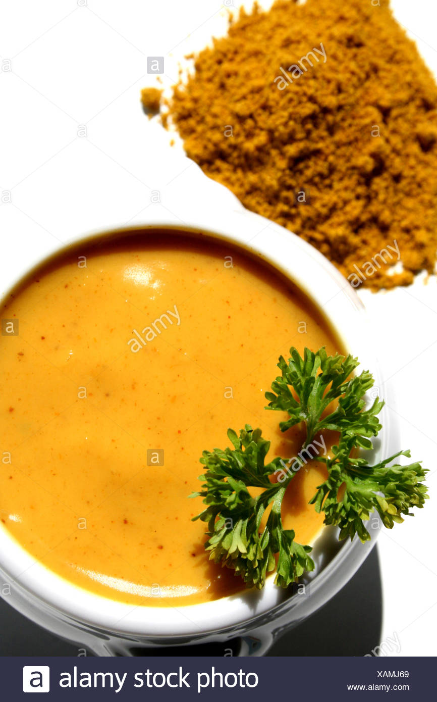 Currydip Stock Photo