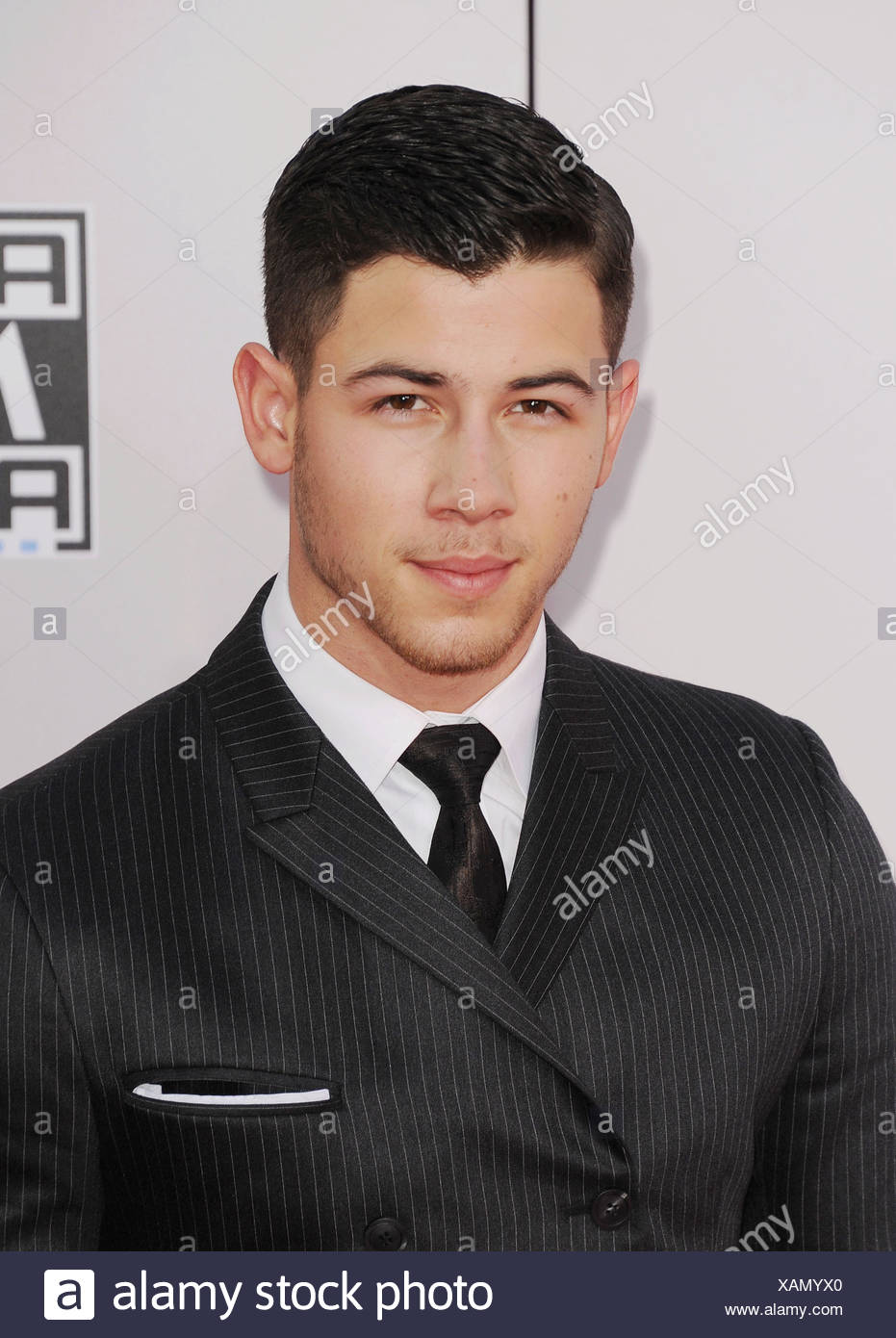 065889d62f325 Recording artist Joe Jonas arrives at the 2014 American Music Awards at  Nokia Theatre L.A. Live