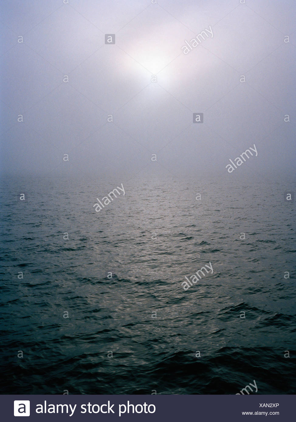 The ocean, Vastkusten, Sweden. - Stock Image