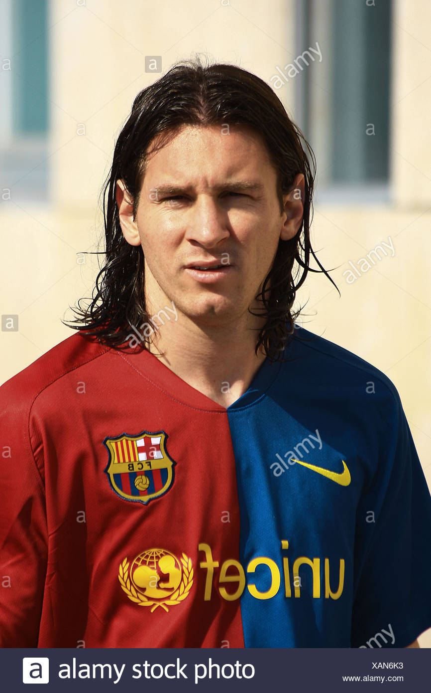 Leo Messi Argentinian Footballer Playing For Fc Barcelona In The Spanish League Stock Photo Alamy