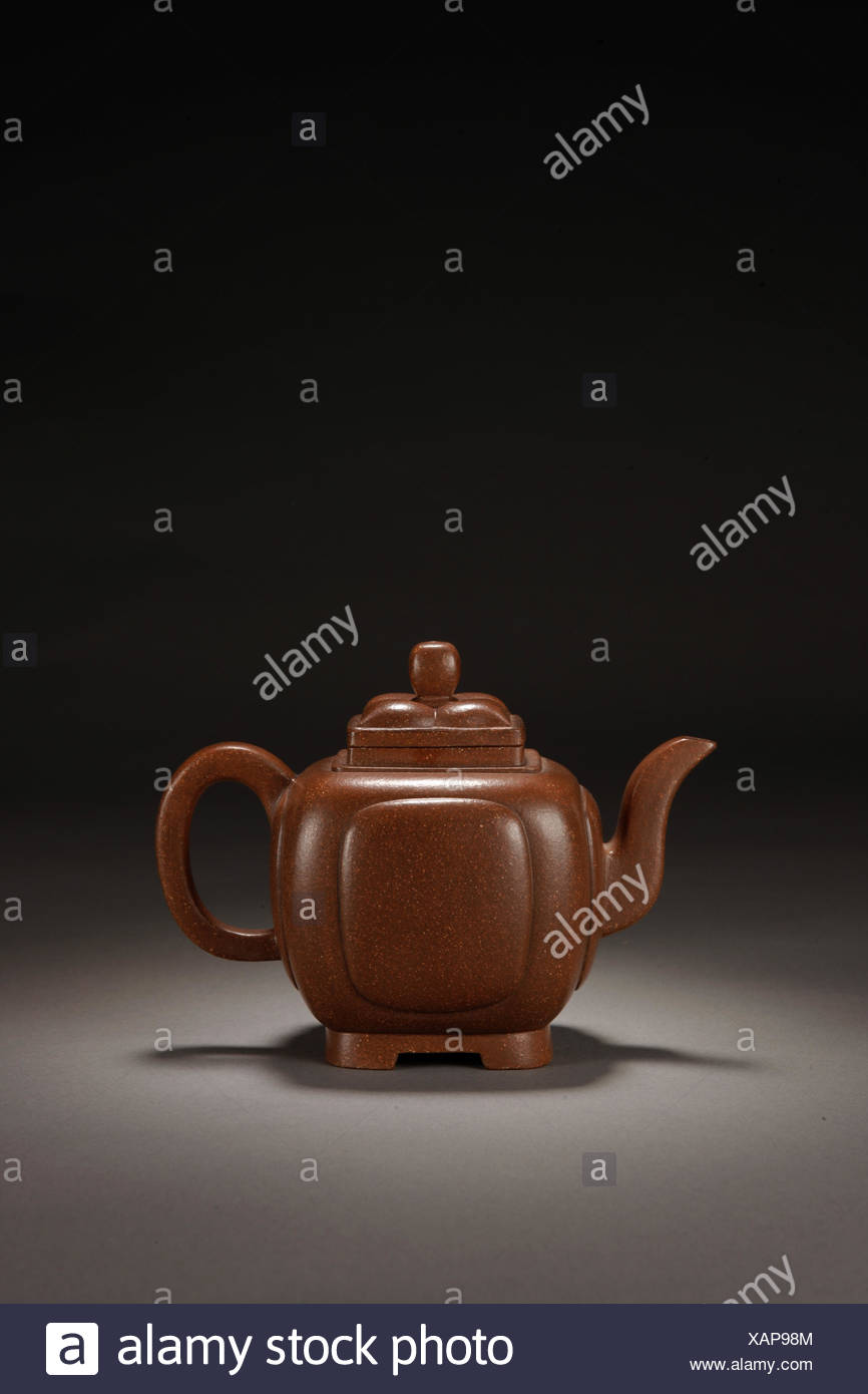 Quartet wishful teapot - Stock Image