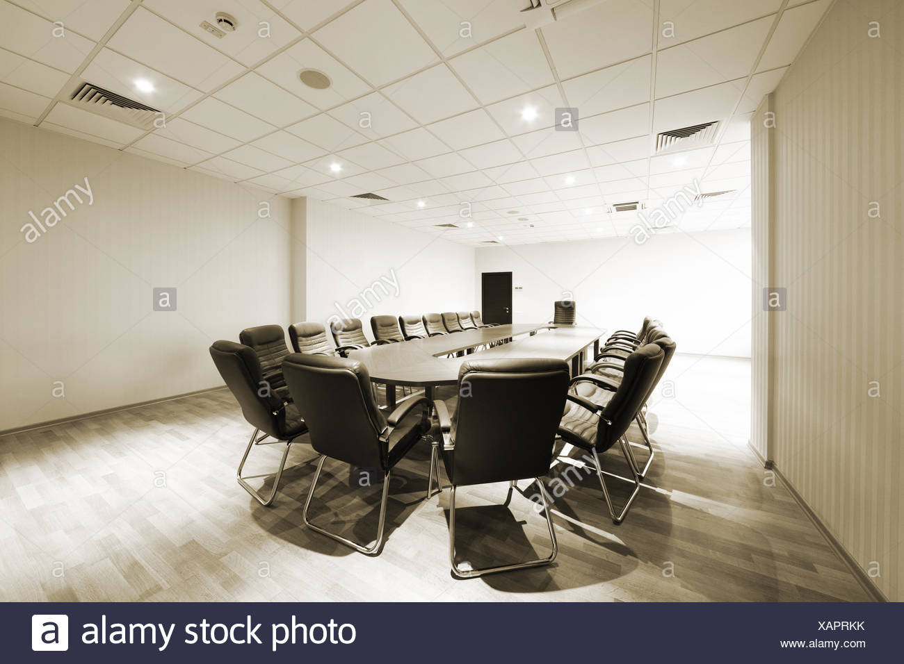 modern conference room - Stock Image