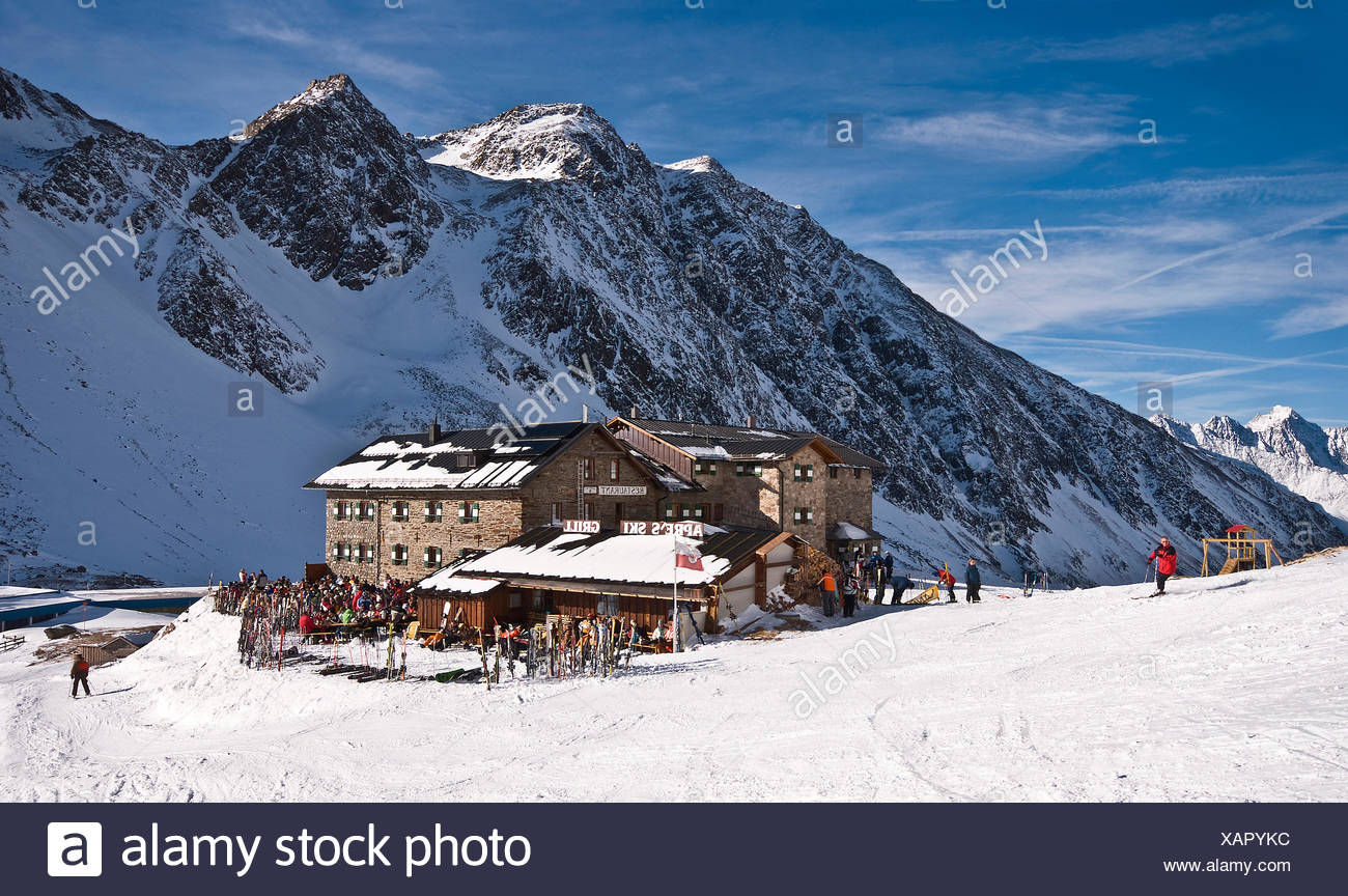 dresdner hutte Stock Photo