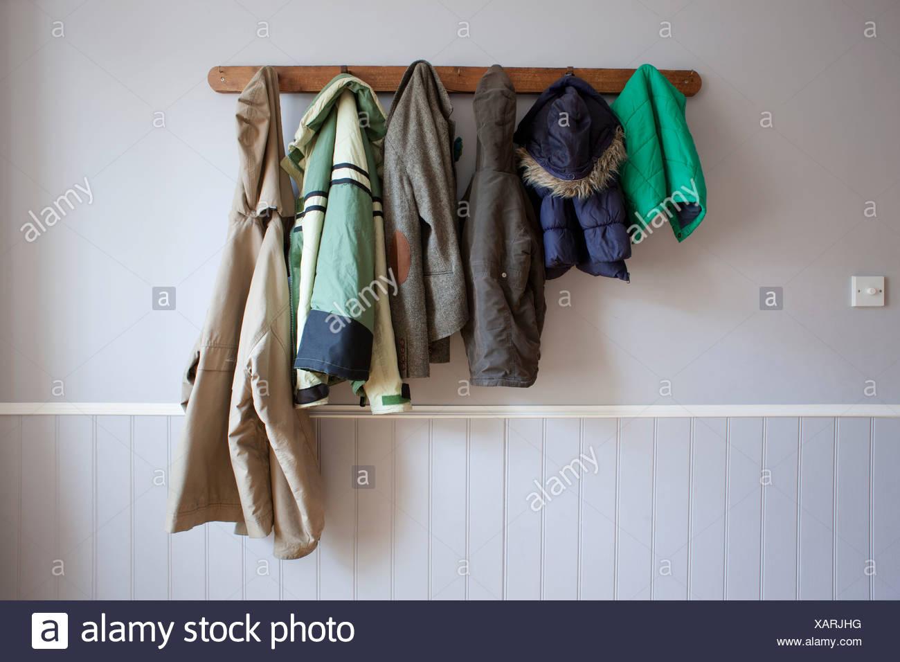 Coats Hanging Stock Photos Amp Coats Hanging Stock Images